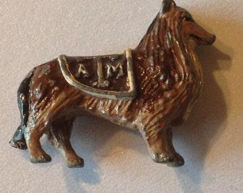 Miniature Dog Texas A&M Cast Iron Reveille