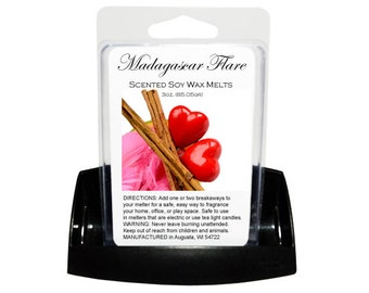 MADAGASCAR FLARE Soy Melts - Wax Tarts - Soy Tarts - Melting Tart - Scented Tart - Tart Melt - Wax Melt - Clamshell - Dye Free