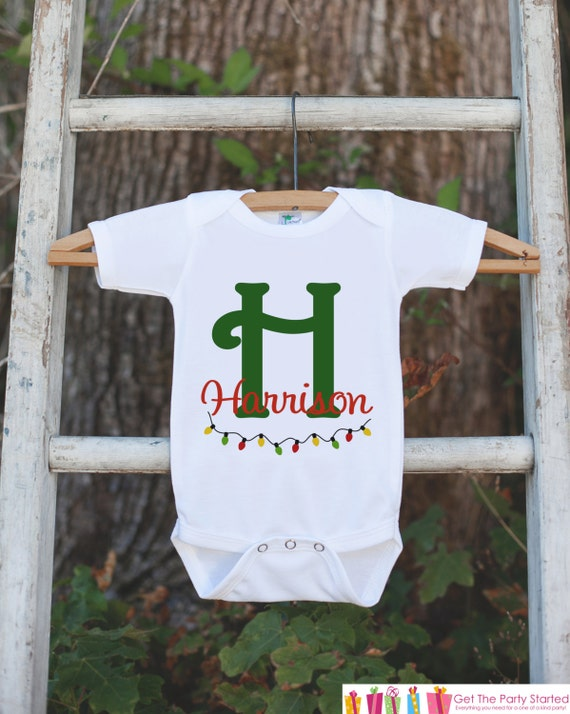 Kids Holiday Shirts - Christmas Tshirt or Onepiece - Boy or Girls ...