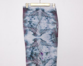 Hand Dyed Pencil Skirt - Medium