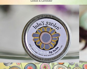 Lavender Lip Balm, All Natural Lip Balm, Beeswax Lip Balm, Lavender Essential Oil, Gifts under 5 Dollars