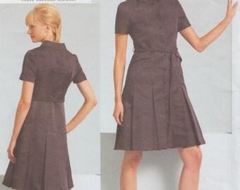 Vogue 1107 / Designer Sewing Pattern / Chado Ralph Rucci / Dress / Sizes 14 16 18 20