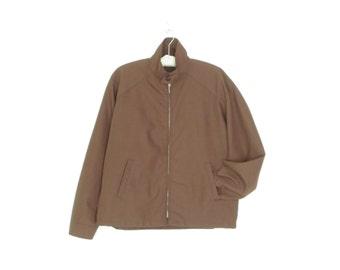Vintage Windbreaker Jacket * Men's Western Jacket * Lightweight Jacket * size 46