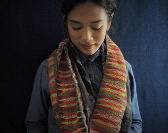 Summer Sale 15% Off - IDHVTG01 - Vintage Highland Laos Embroidery Sarong No.1