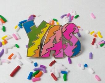 YAS! - Broadcity - Rainbow - Pin