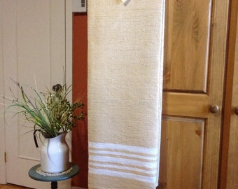 Handwoven French-Canadian Blanket Catalogne