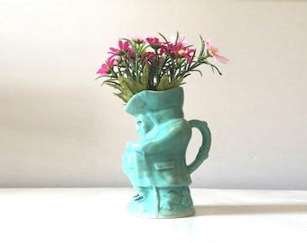 Vintage Toby Jug, china Toby Jug, English Toby jug, english china jug, vintage english china, vintage vase, ceramic Toby jug, character mug