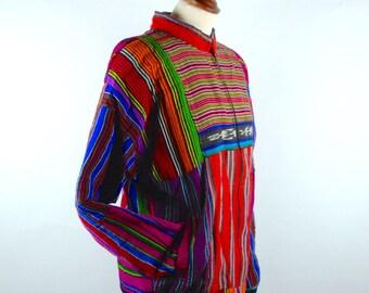 Ikat Patchwork Jacket