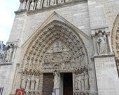 Paris Photography of Cathedral Detail for Easter or Religious Gift