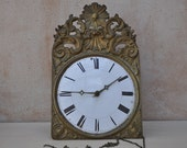Antique French Comtoise Clock for Renovation or Decor