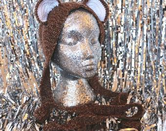 Honey Bear Ears Headband