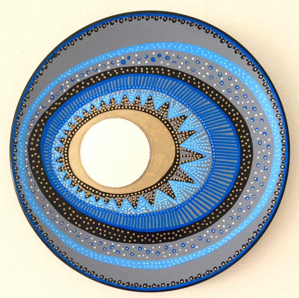 Evil Eye Decoration Wall Hanging : Evil eye mirror decor decorative plate