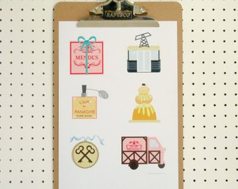 Grand Budapest Hotel Inspired Print Poster A4