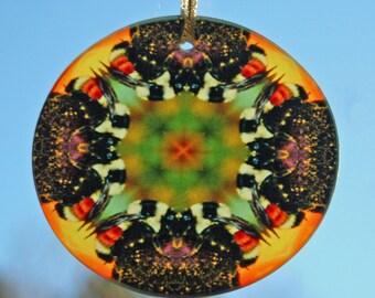 Bee Suncatcher Boho Chic Mandala New Age Sacred Geometry Hippie Kaleidoscope BEElieve