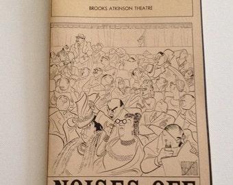 Playbill 1983 Brooks Atkinson Theatre Noises Off Vintage Theater Program NYC
