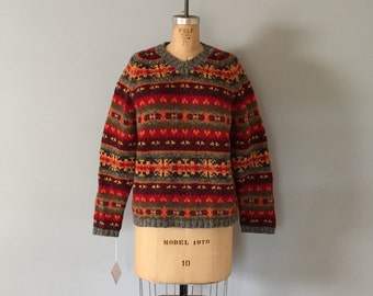 90s Abercrombie&Fitch sweater | wool pullover sweater