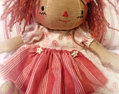 "Primitive ""Sadie Sue"" Raggedy Doll Instant download e-Pattern, Primitive Patterns"