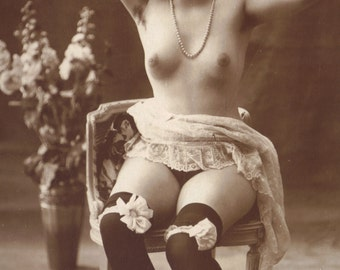 Lovely French Nude by Jean Agelou, circa 1910s