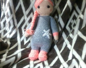 Crochet layla inspired doll unicorn ANY animal you want