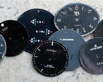Wrist Watch Faces -- set of 8 -- D14