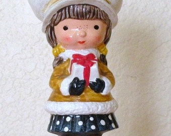 1970s HOLLY HOBBY Christmas Figurine