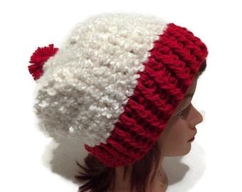 Red Velvet Cupcake, Cupcake Hat, Slouchy Cupcake Hat, Kawaii Hat, Red Velvet Cake Hat, Sweets Hat, Food Hat, Cupcake Costume Cupcake Cosplay