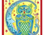 COLORING BOOK OWLS Have some fun and be the artist Original Cute Owl drawings All Original Art Coloring for Adults