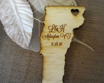 100 Vermont State Wedding Favors