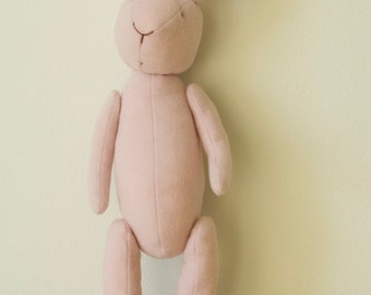 Eco Friendly Soft Baby Pink Bunny Rabbit