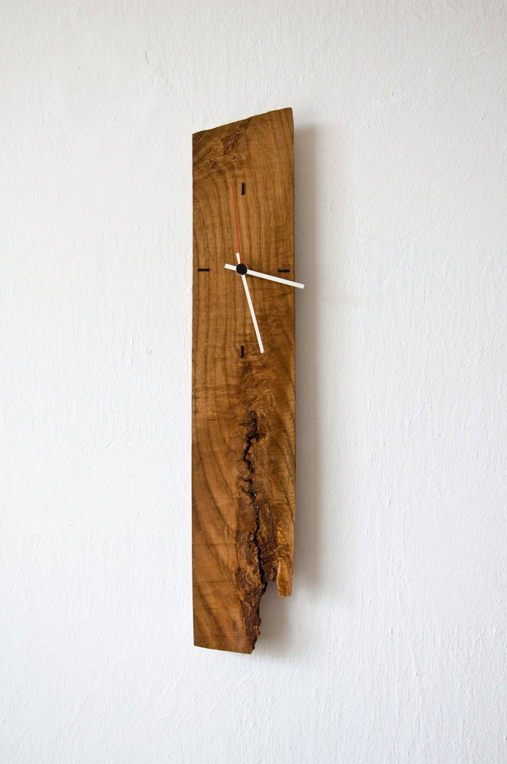 Unique Wall Clock Modern Wall Clock Salvaged Wood By