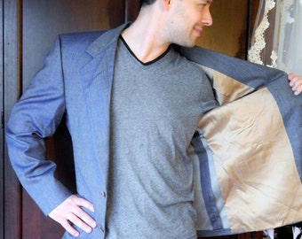Haute Couture~Vintage BILL Blass International Blazer~For PBM~Size Large 40R~Made in Usa