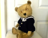"Chiltern Bear 20"" - Vintage Chiltern - Mohair Bear - 1950's Toy - Large Chiltern - English Teddy - 20"" Bear"