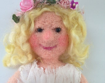 Needle Felted Fairy Doll
