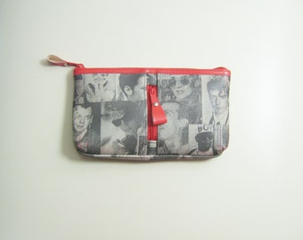 Vintage BOY LONDON Small Clutch Make-Up Bag