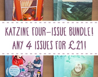 Katzine four-issue bundle!