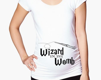 Harry Potter Maternity Shirt - Wizard in the Womb