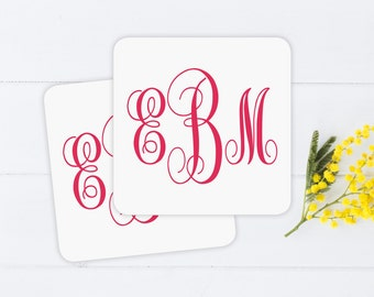 Personalized Coasters - Wedding Favors, Coasters, Bridal Shower Favors, Reception Accessories