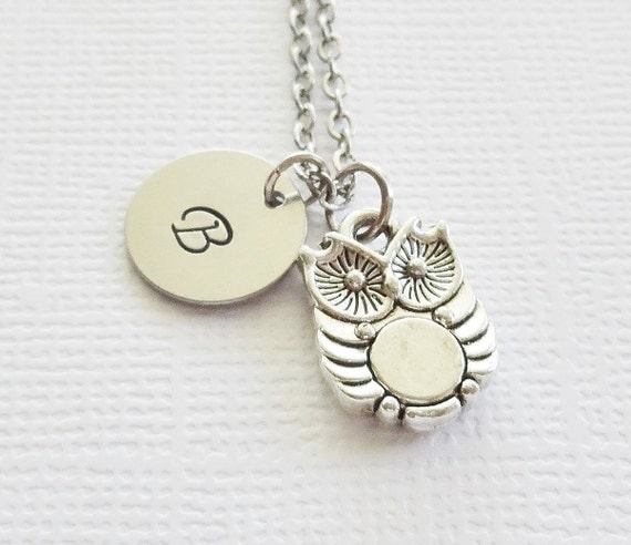 Baby Boy Gifts Jewelry : Items similar to owl necklace tiny baby cute charm