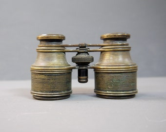 Antique Brass Opera Glasses/Binoculars Early 1900s