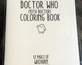 Doctor Who 10th Dr Coloring Book