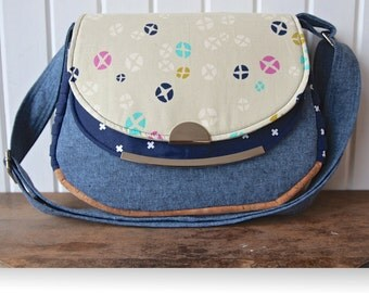 The Snapdragon Satchel - PDF Sewing Pattern