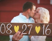 Save The Date Sign Wedding Sign Engagement Sign Photo Prop Wedding Date Sign Rustic Wedding Sign Wedding Photo Prop Sign Country Wedding