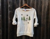 Christmas Sweater, Winter Sweater, Christmas Gift, Cozy Top, S,M,L,XL
