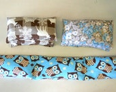 "Rice Filled Hot and Cold Pack ""Bubbies"" - (Group A) Deer, Floral, Owl"