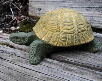 Turtle Statue, Concrete Tortoise, Concrete Garden Turtles, Garden Decor Turtle Figure, Cement Stone Turtle, Tortoise Statue, Garden Tortoise