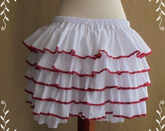 Bloomers with ruffles asorted colors-XS-S-M-L-XL-XXL -Lolita -Steampunk -Burlesque -Can Can -Circus -(Bitter & Sweet)