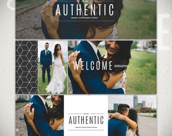 Facebook Timeline Cover Templates: Authentic - 3 Facebook Covers