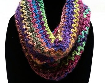 Crochet Cowl Winter Cowl Crochet Scarf