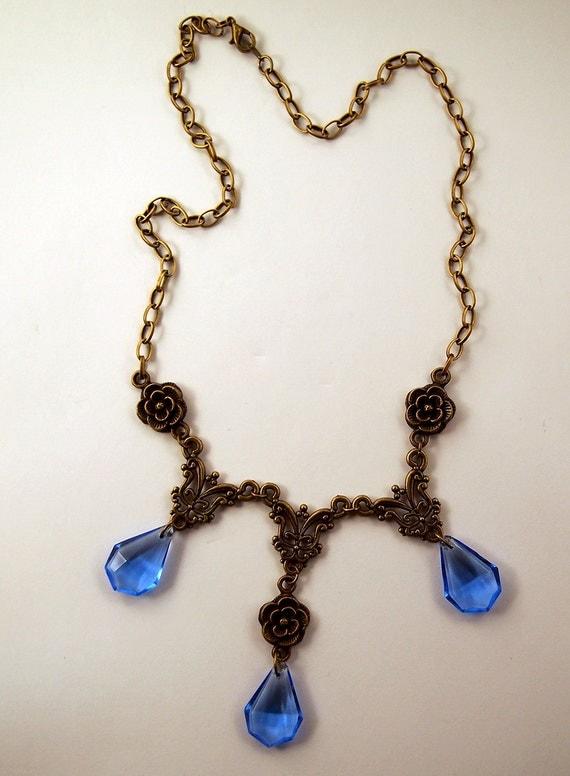 Game Of Thrones Inspired Sansa Stark Purple Wedding Necklace