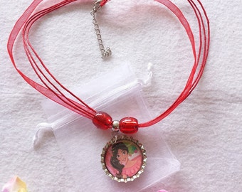 10 Elena of Avalor Necklaces Party Favors